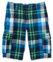 Kids' Plaid Cargo Shorts PS From Aéropostale