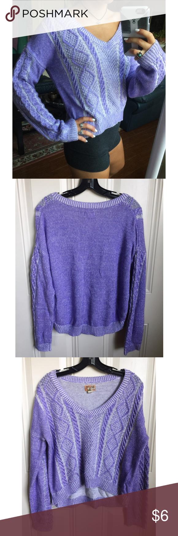 Cute Light Purple V-Neck Sweater | Light purple, Weather and Shorts