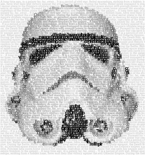 Stormtrooper typography
