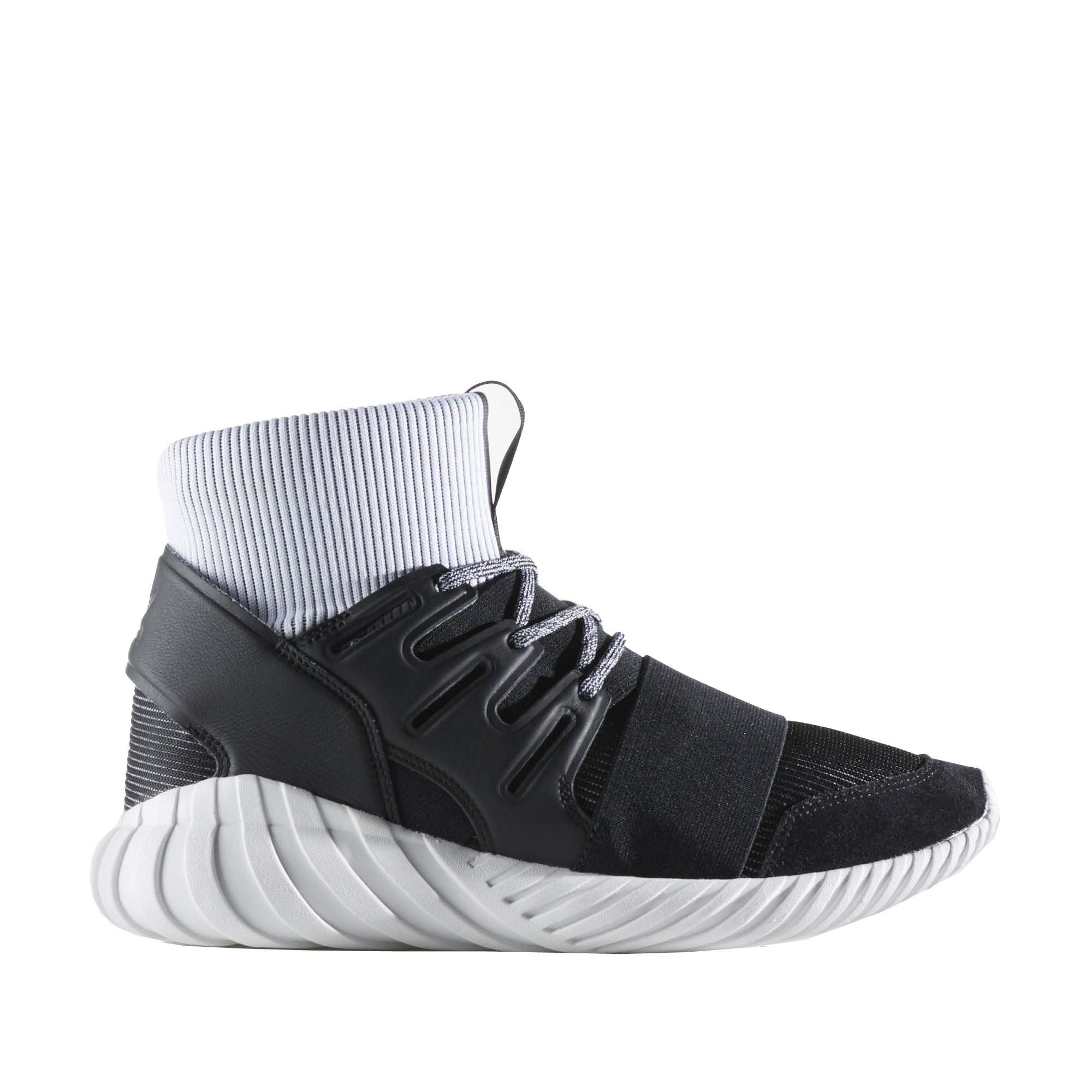 ADIDAS TUBULAR DOOM (BLACK/WHITE) - $200.00 CAD