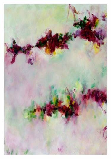 "Saatchi Art Artist Ines Sun; Painting, ""Spring Song No.9  春頌"" #art"