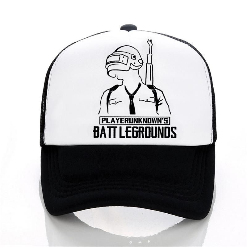 fc6bf6b499c PUBG Summer Baseball cap Men women letters printed Cool Mesh hat Fashion  casual outdoor Trucker Caps Hat. Yesterday s price  US  8.60 (7.48 EUR).