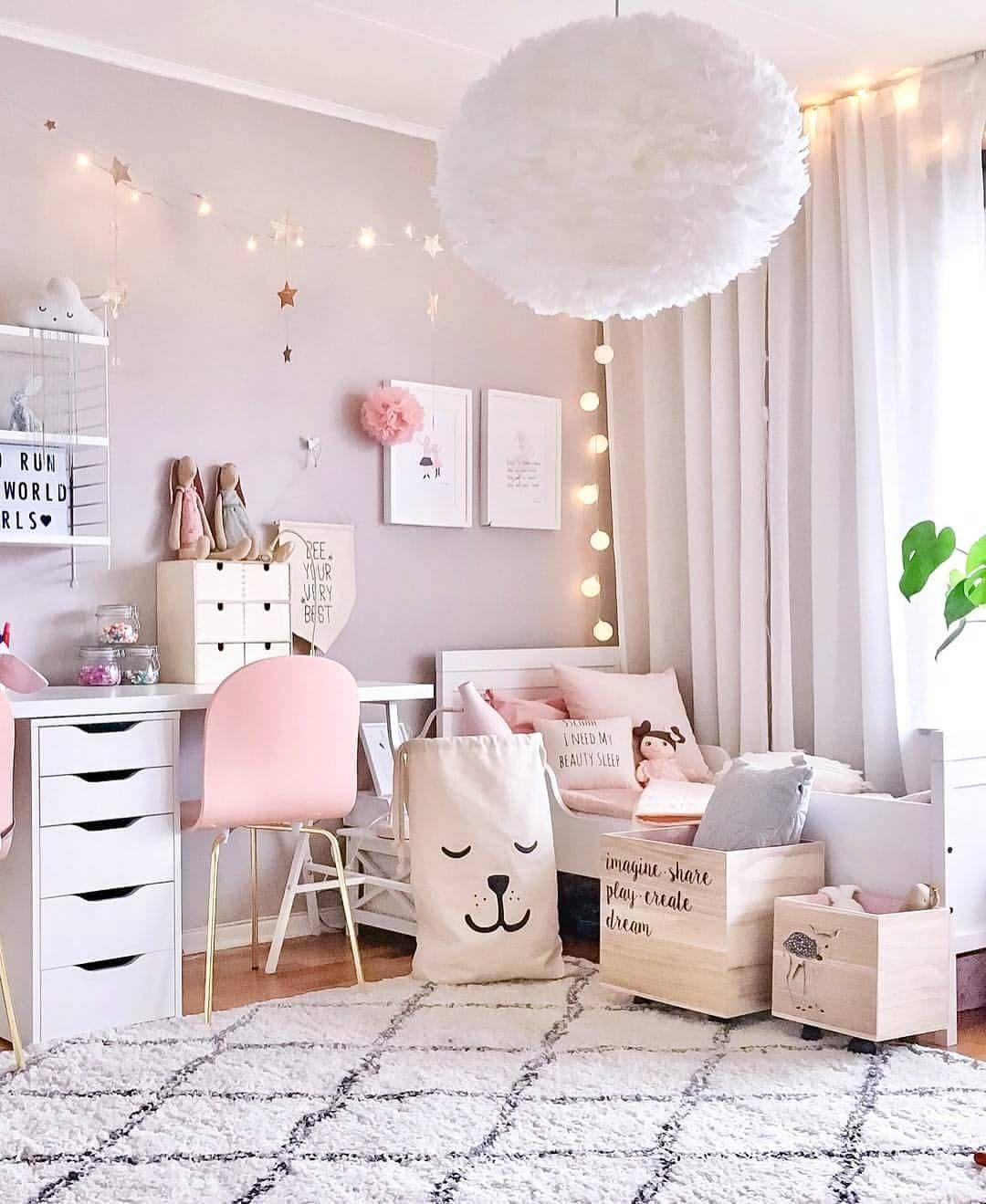 Niedliche vintage raumideen inspiration from instagram  pastel girls room ideas  scandinavian