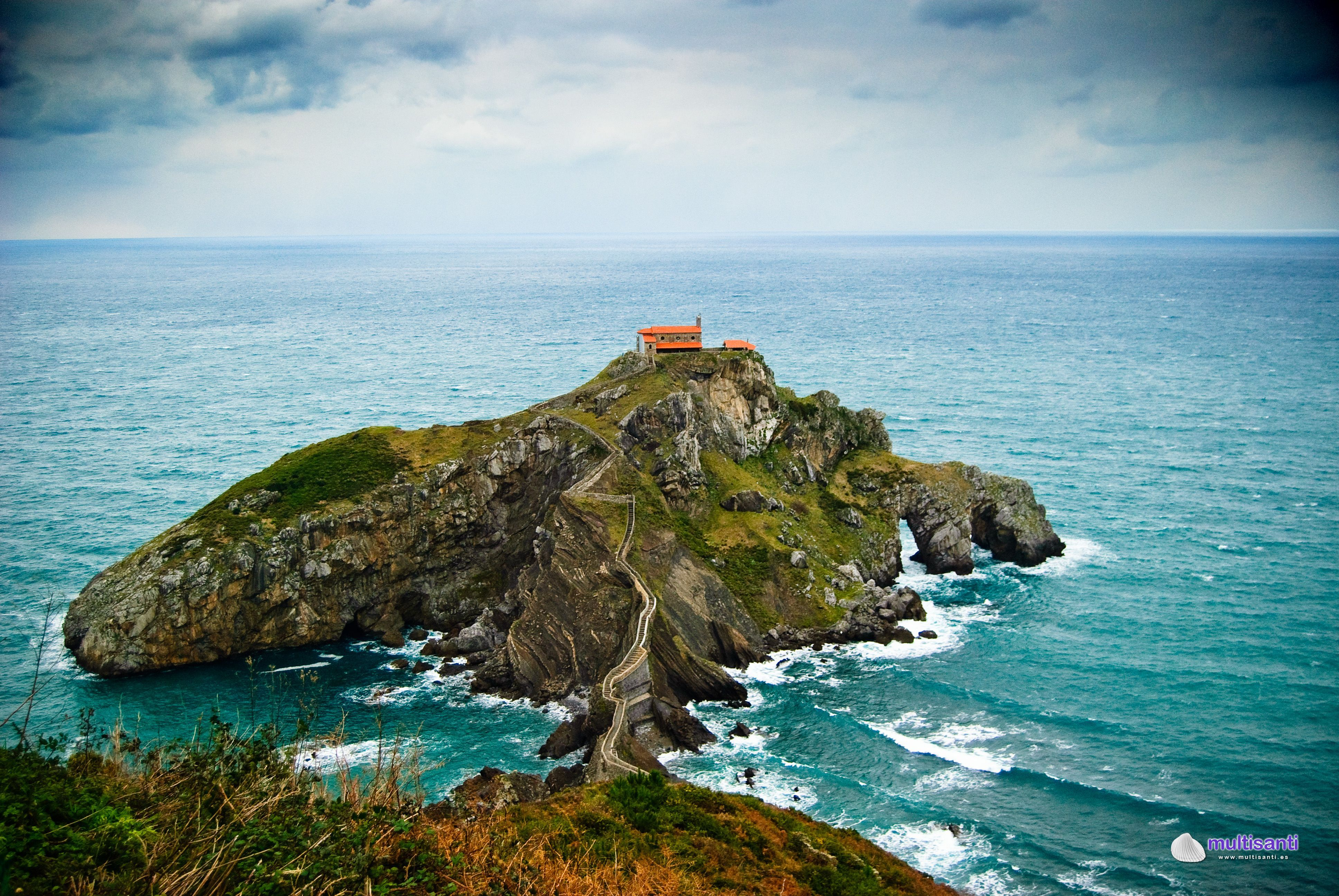 George R R Martin S Fictional Continents Of Westeros And Essos In Game Of Thrones Are So Lushly Fully Imagined Basque Country Spain San Juan De Gaztelugatxe