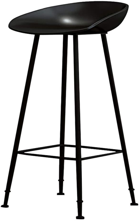 Amazon Com Metal Bar Stools Kitchen Counter Wrought Iron Barstool Black Seat Height Dining Chairs Creati Bar Stools Metal Bar Stools Wrought Iron Bar Stools Black wrought iron bar stools