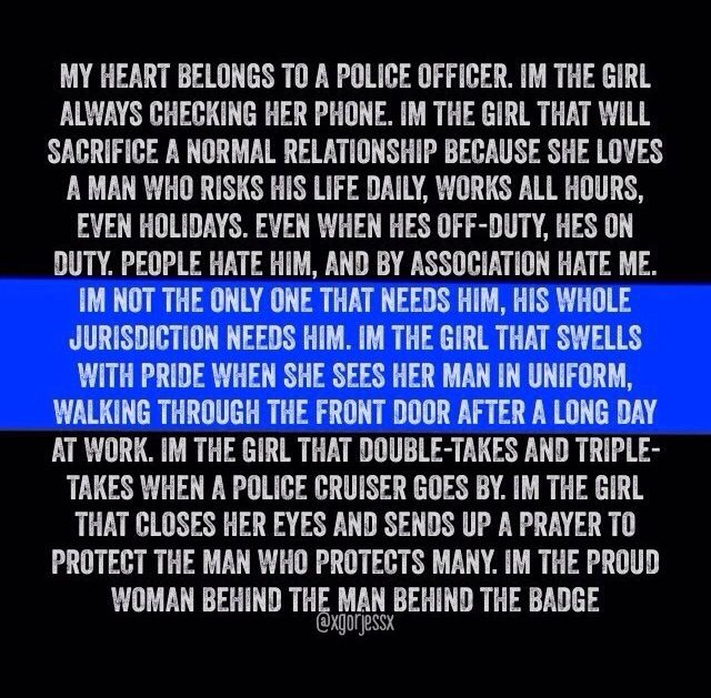 LEOW Police Wife | Police stuff | Police officer wife ...