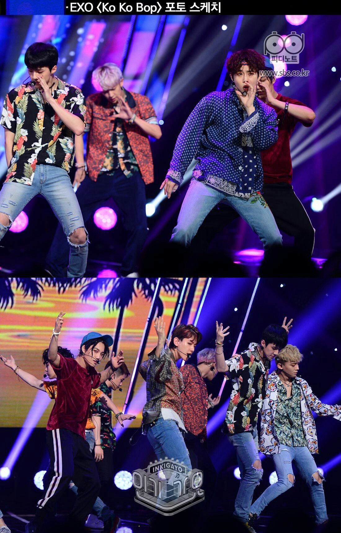 [170731] - SBS Inkigayo PD Note website update with #EXO