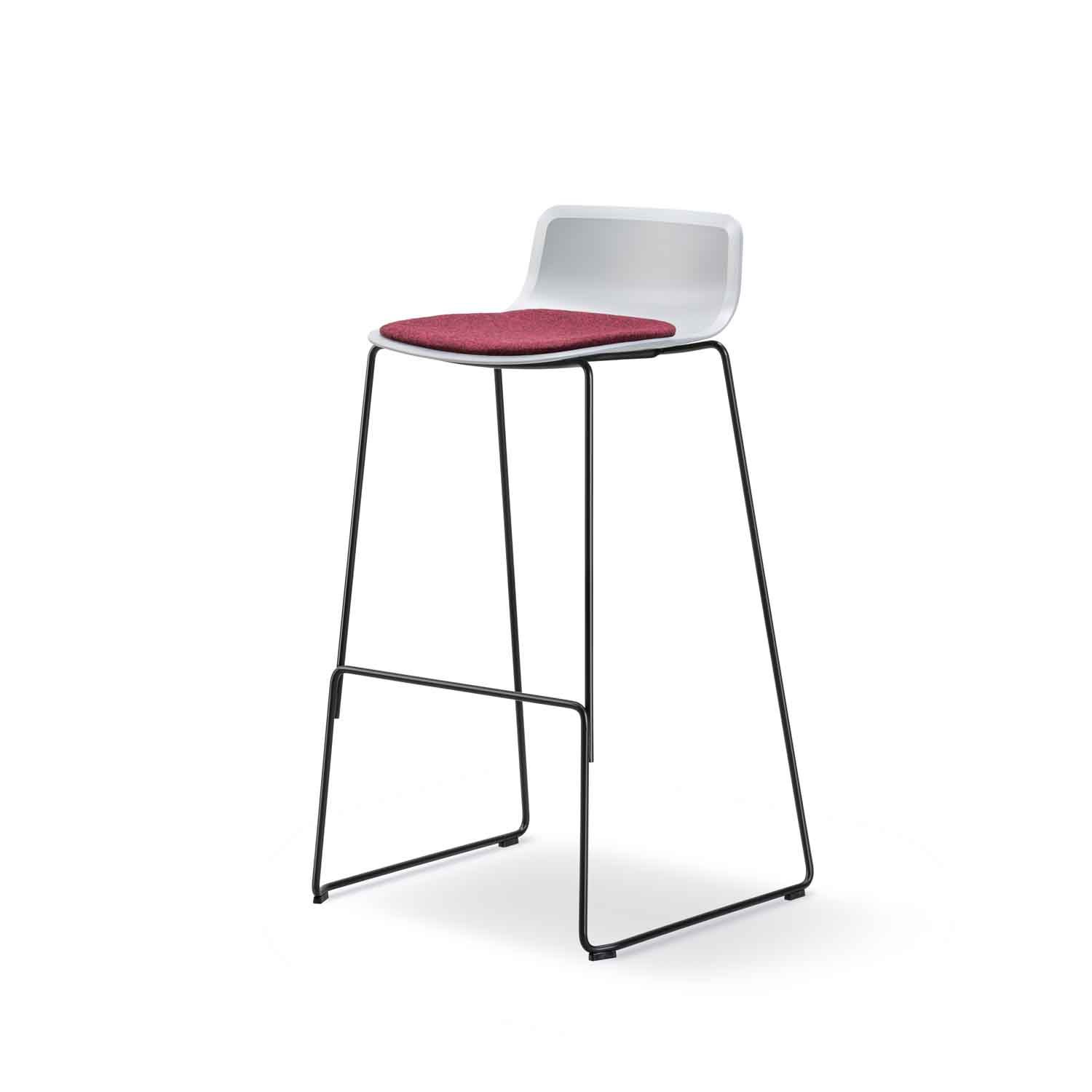 Pato Low Back Bar Stool