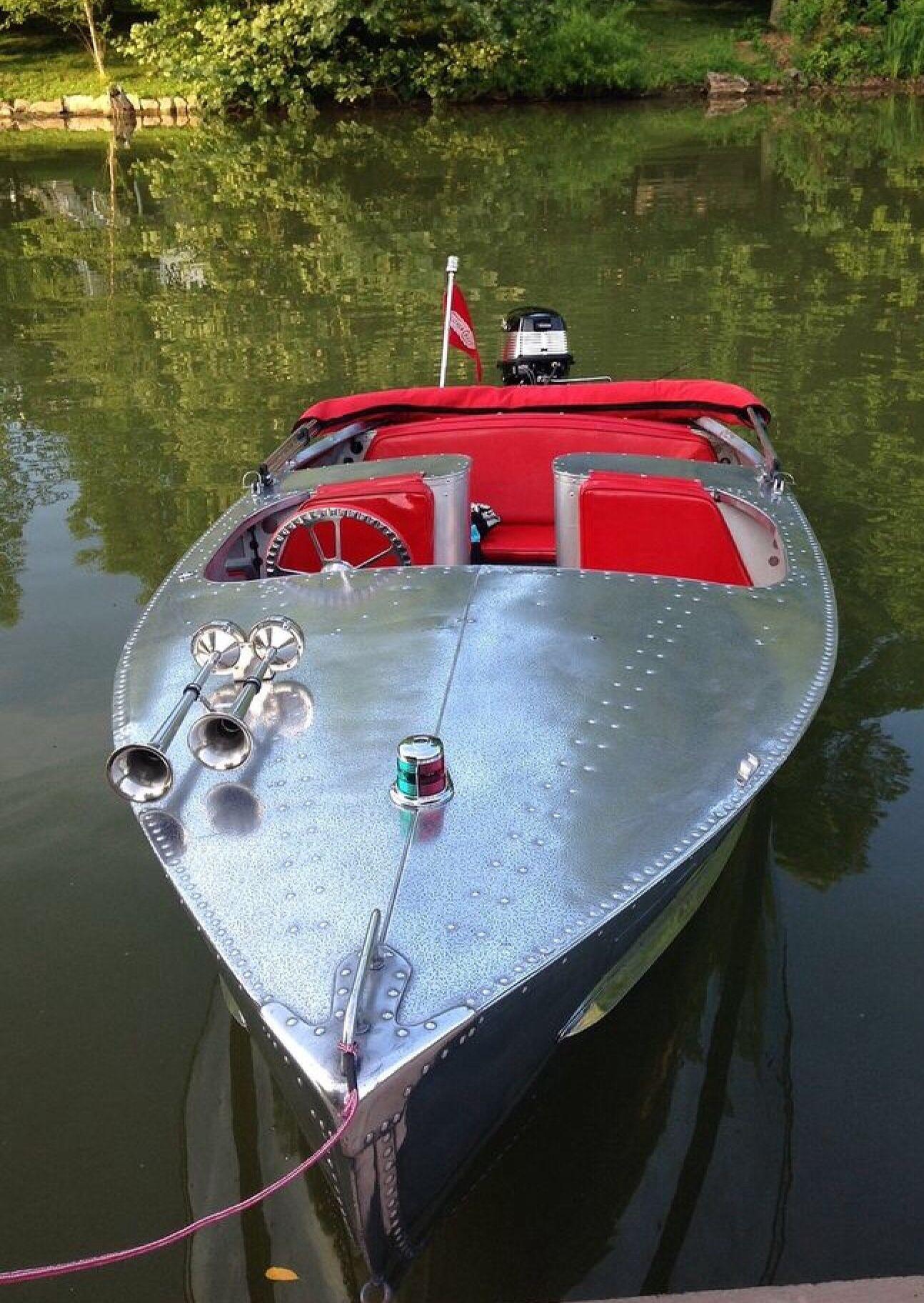 Aluminum Boat … | Runabout boat, Aluminum boat, Boat