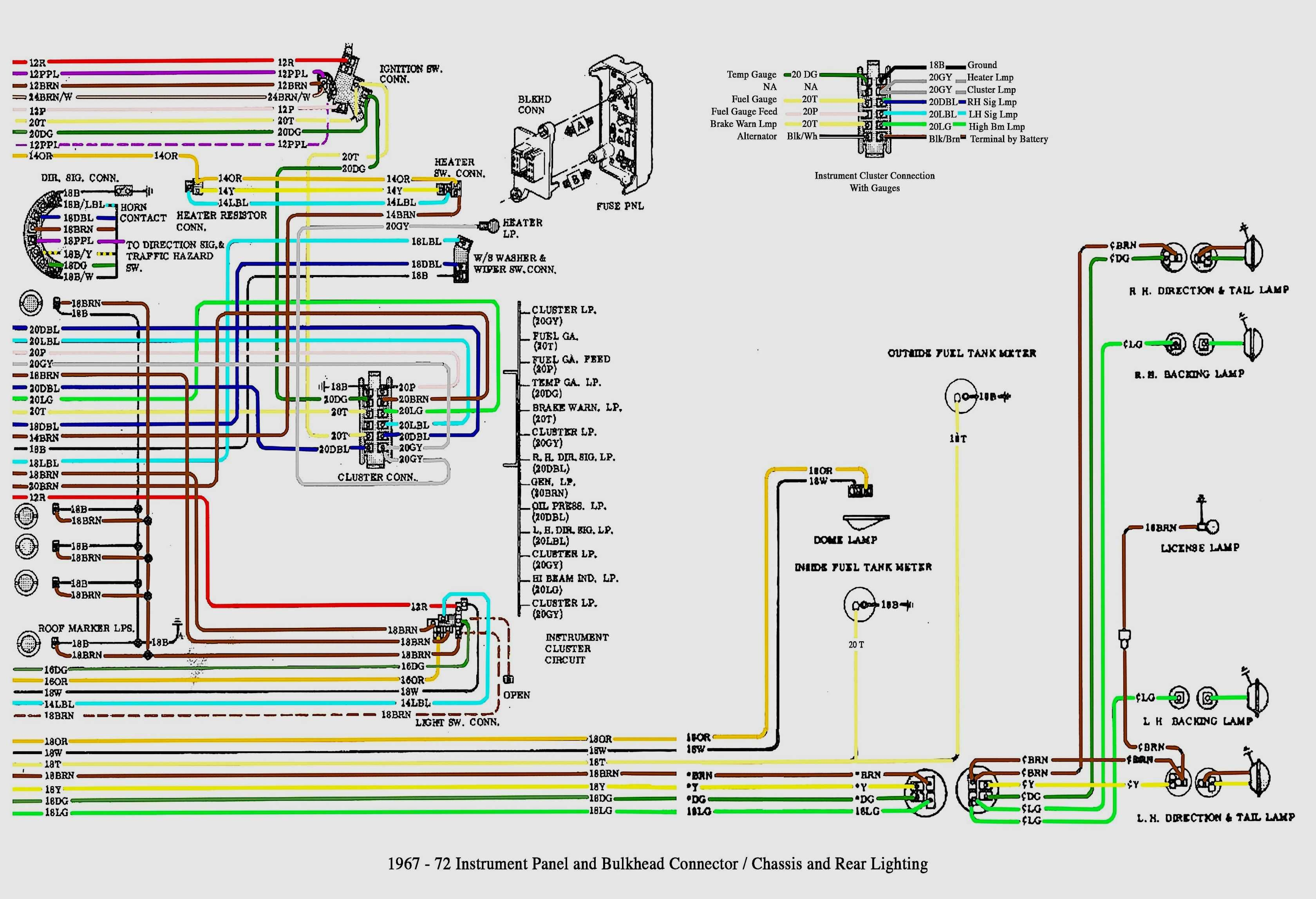 1980 Chevy El Camino Wiring Diagram - Wiring Schema