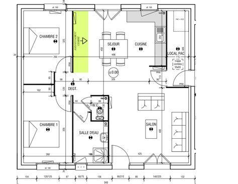 Plan Maison Le Masson Maison Design plan de maison plain pied 5 - plan de maison design