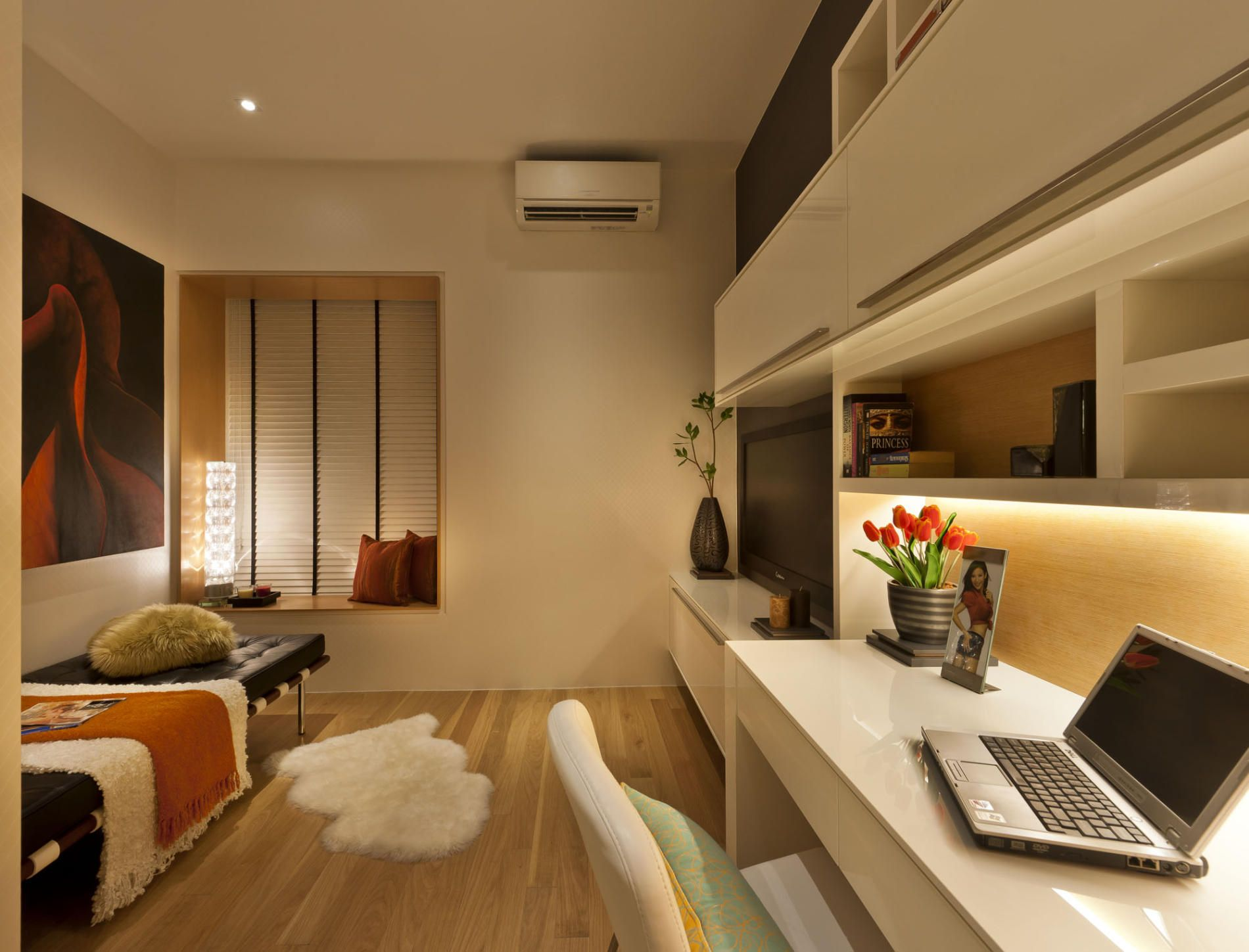room - Modern Study Room Interior Design