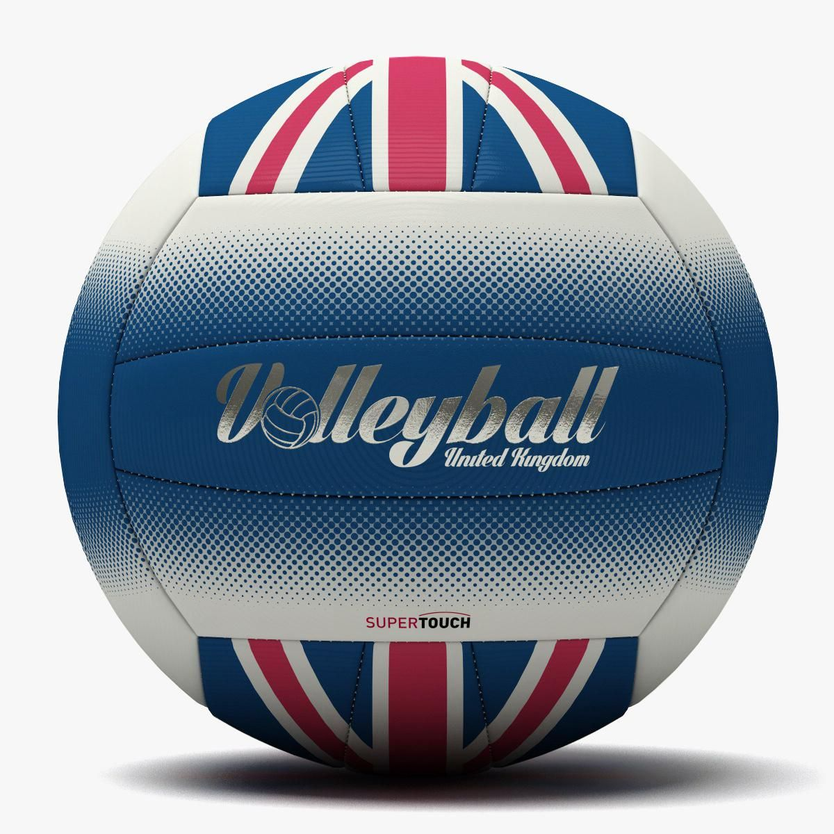 Volleyball Uk Flag Ball 3d Model Ad Uk Volleyball Flag Model