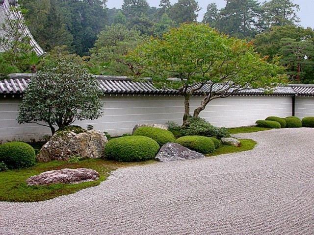 jardin moderne zen amenagement paysager moderne jardin design John Weiss
