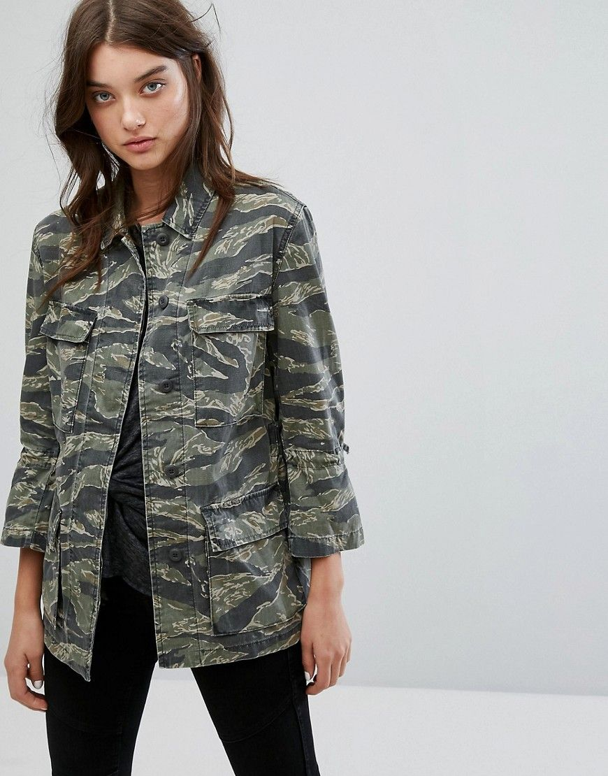 GreenProducts Saints Rasko All In Jacken Jacket Camo F1clKJ3T