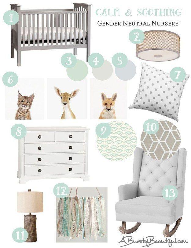 gender neutral nurseries baby pinterest babyzimmer kinderzimmer und designs. Black Bedroom Furniture Sets. Home Design Ideas