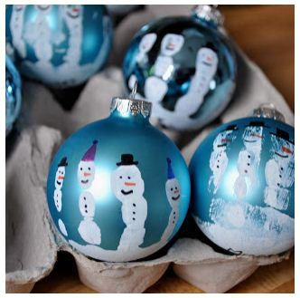 Dédée la bricole fait des boules de Noël | Bricolage de noel