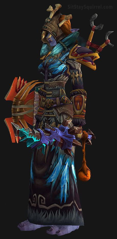 Wow Troll Shaman Set