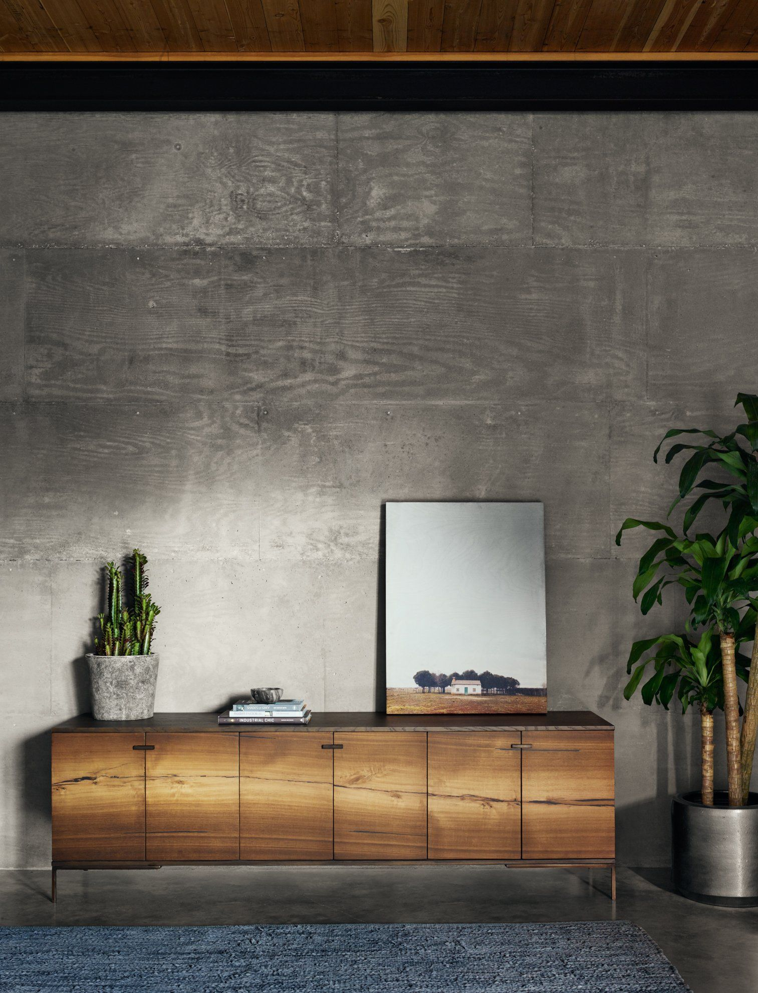 Cuzco Media Console In Natural Yukas Furniture Home Decor