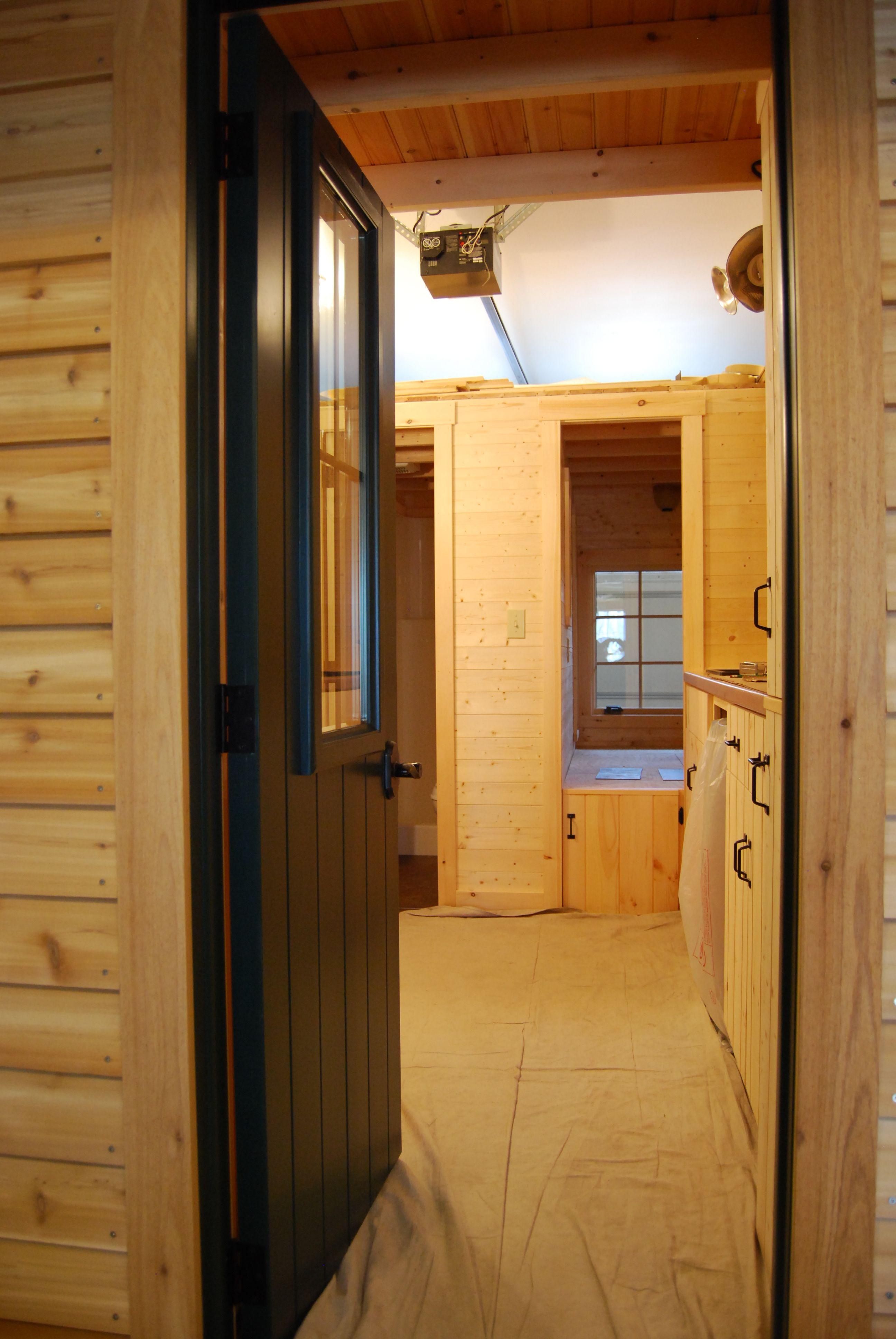 Entry door view