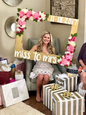 Cute Frames To Remember Your Shower Day And Say Goodbye To Your Single Life Bridal Shower Decorations Bridal Shower Diy Bridal Shower Theme