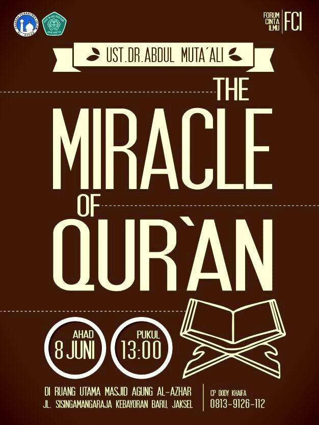 The Miracle of Quran