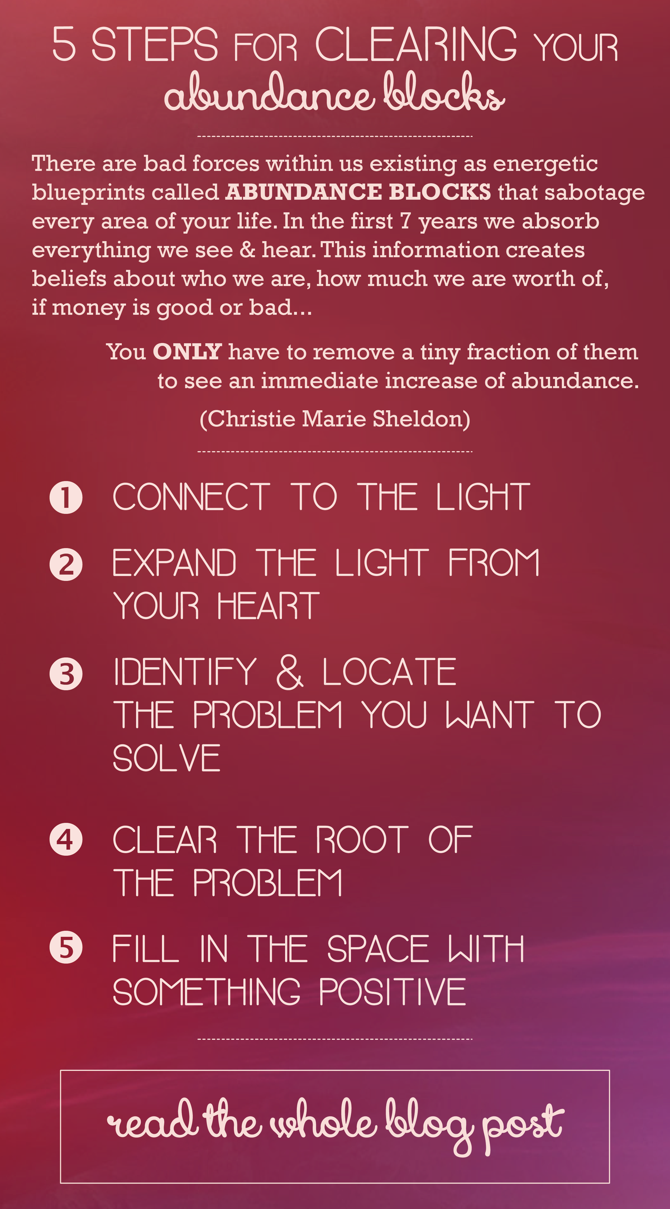 How To Release Money Blocks Change Your Money Energy Using The Source Energy There Are Bad Forces Within U How To Increase Energy Sources Energy Money Blocks
