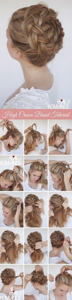 Peinados para fiestas – Ideas de peinados para fiestas – #hairstyle #hairstyles …