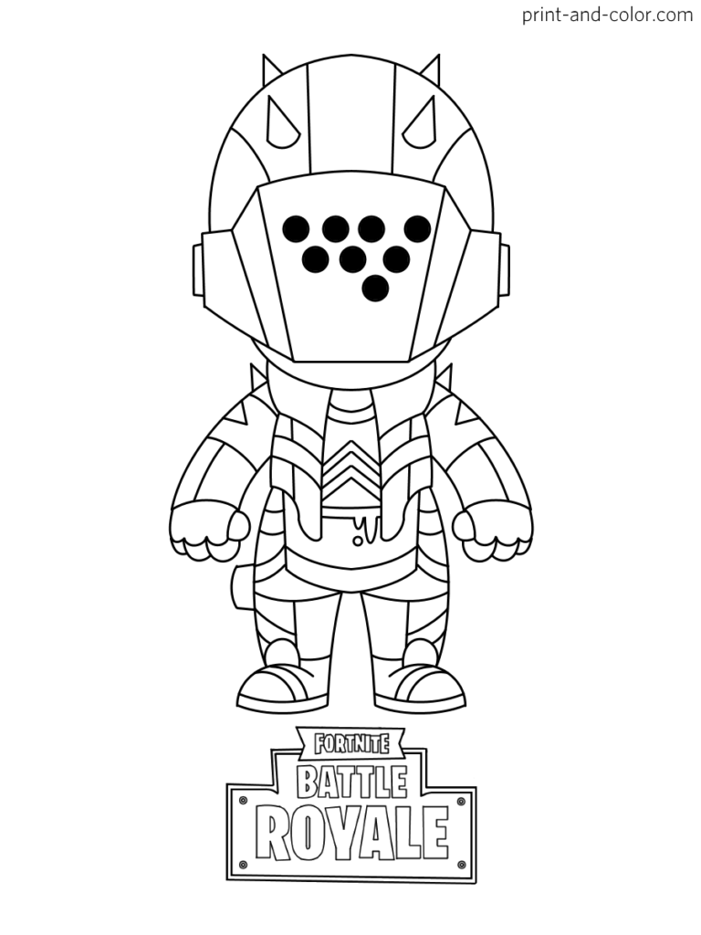 Fortnite Coloring Pages Print And Color Com In 2020 Coloring Pages Cool Coloring Pages Coloring Books