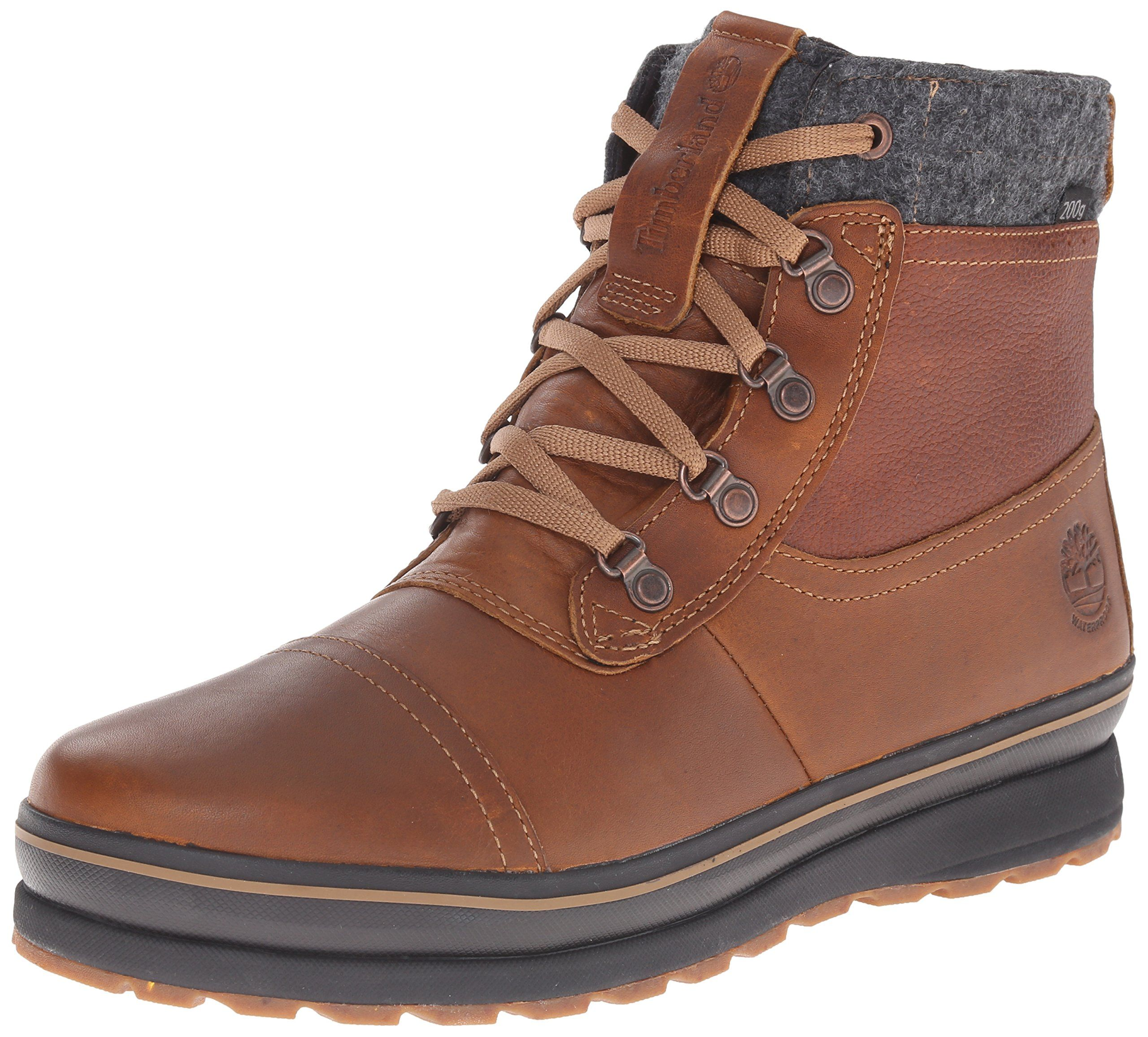 288d76fe Amazon.com: Timberland Men's Schazzberg Mid WP Insulated Winter Boot:  Clothing