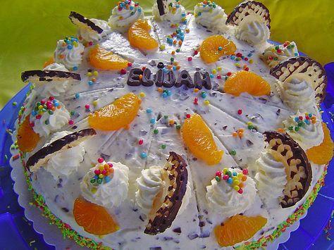 Schokokusstorte Mit Mandarinen Kuchen Und Torten Pinterest