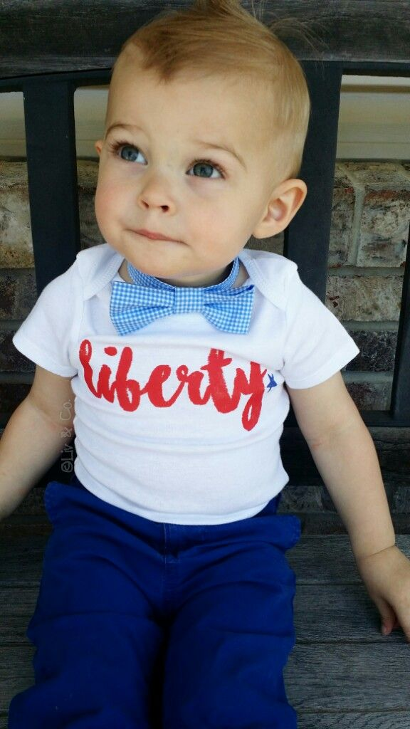 7b88ec3fe Liberty 4th of July baby boy or girl one piece outfit and kids shirt ...