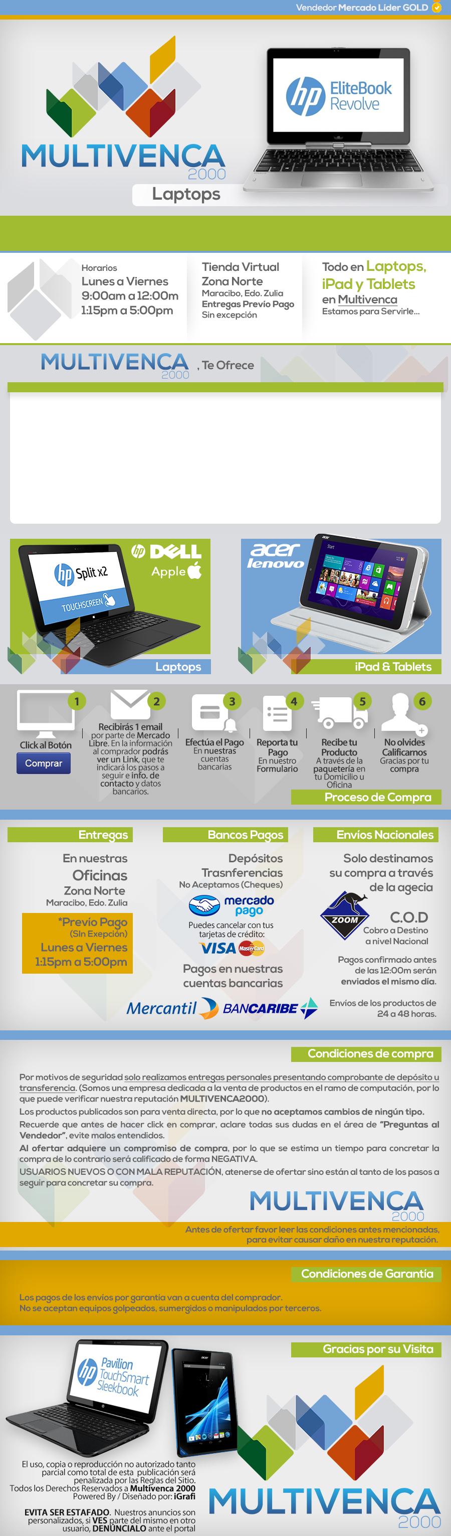 Cliente Multivenca 2000. Venta en equipos de computación, laptops ...