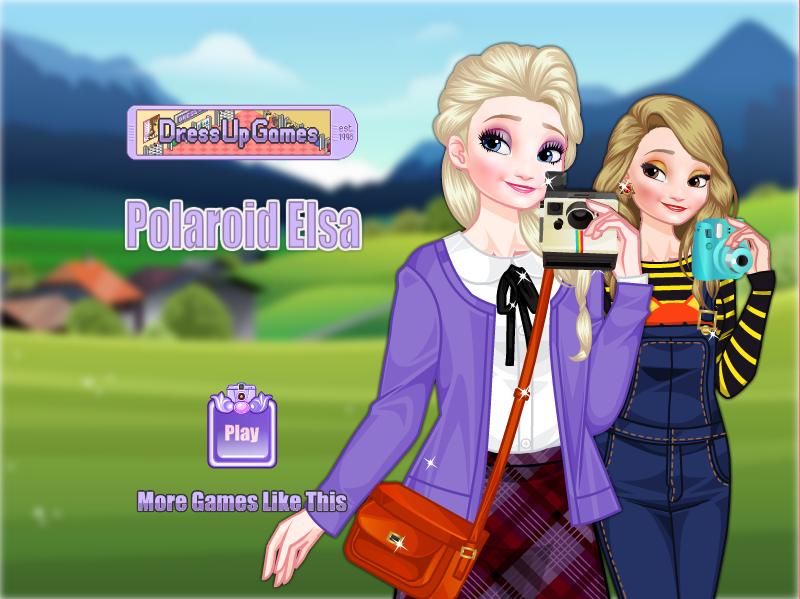 Funbrain Frozen Elsa Polaroid Online games for kids