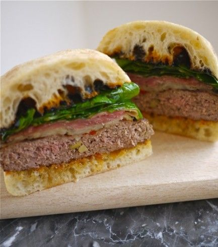 "6/11 Better Recipes Grill-Off Contest:  Grand Prize ""La Taverna Tapas Burger"""