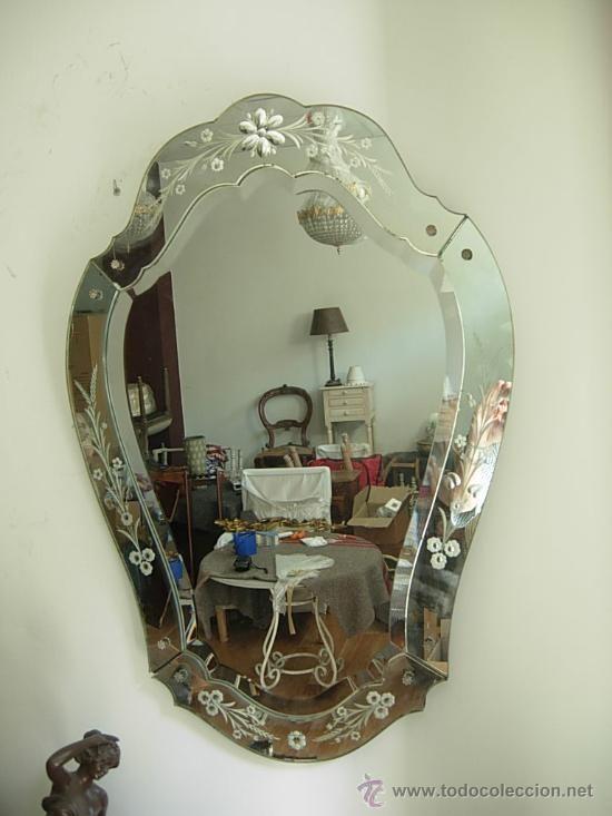 Espejo veneciano antiguo 338 muebles para un riad - Espejo veneciano antiguo ...