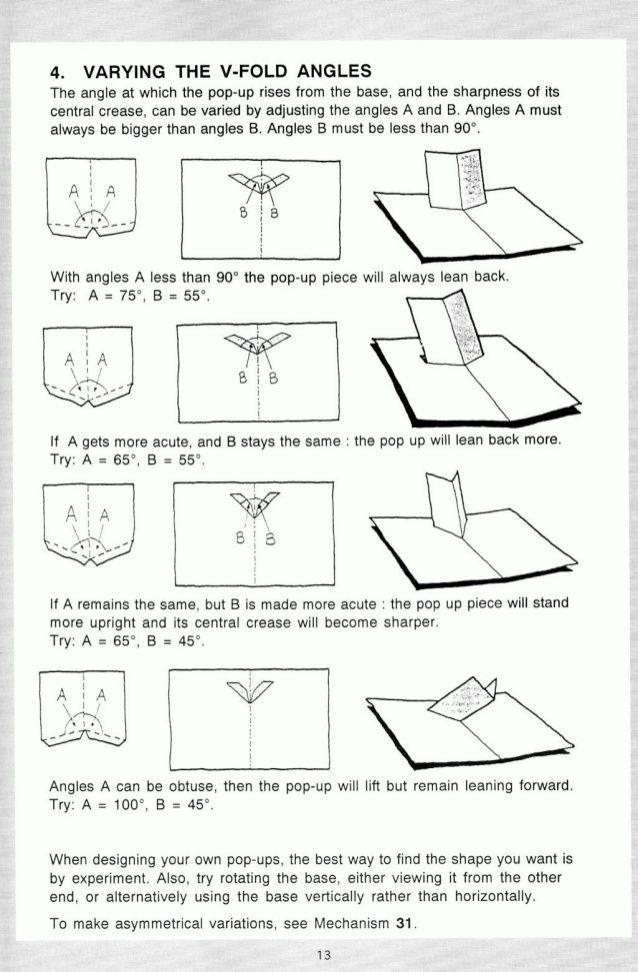 Pop Up A Manual Of Paper Mechanisms Duncan Birmingham Tarquin Boo Pop Up Diy Pop Up Cards Paper Pop