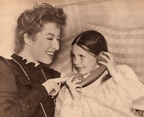 "Greer Garson & Margaret O'Brian in ""Madame Curie""!"