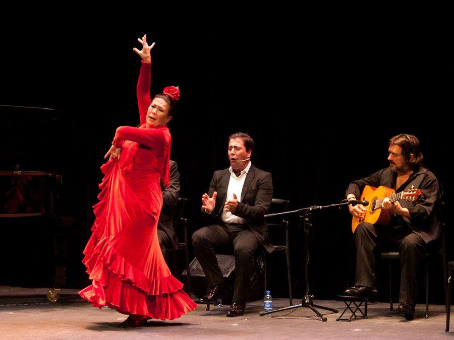 Pepa Montes & Ricardo Miño - Jueves Flamencos Cajasol - Sevilla