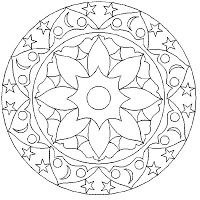 A Few Parchment Craft Mandala Patterns Geometric Coloring Pages