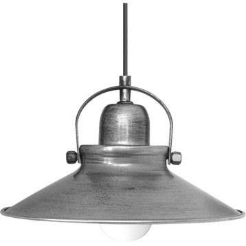 Suspension Mirano SEYNAVE gris 60 watts Diam 30 cm from