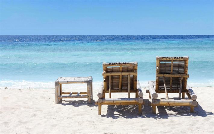 Tropical Island Beach Chairs