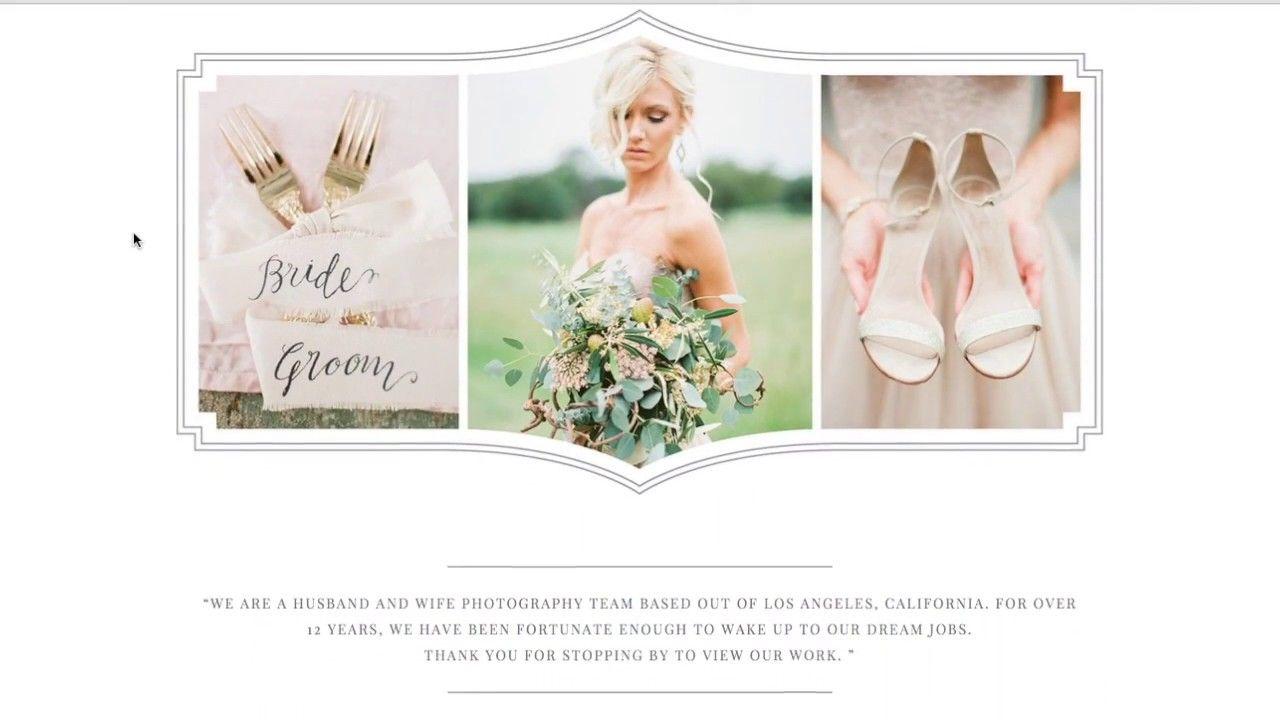 Squarespace Template Design Eucalyptus Modern Wedding Photographer - Squarespace templates for photographers