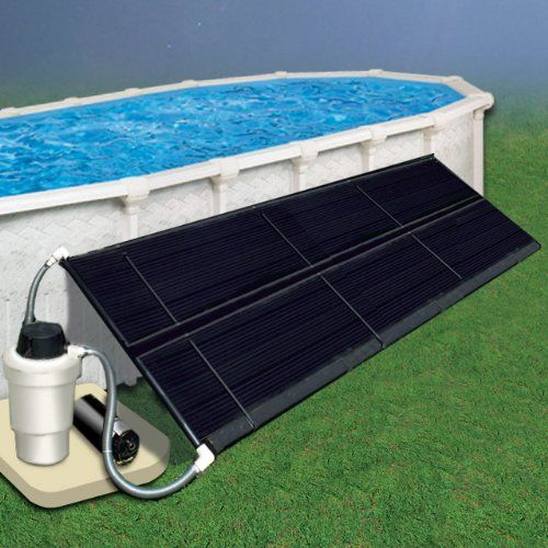 Doheny S 5 X 10 Two 2 5 X 10 Panels Space Saver Solar Heating Collector Save Big Money On Utilities Hea Pool Solar Panels Solar Pool Solar Heating System