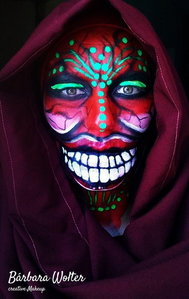#maquillaje #makeup #artístico #artista #art #demonio