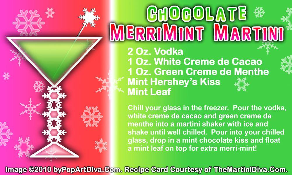 CHOCOLATE MERRI MINT CHRISTMAS MARTINI recipe on a Free Recipe ...