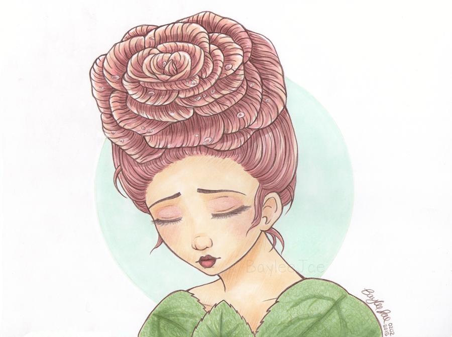Line Art By Baylee Jae : Solemn dewdrops by baylee jae viantart on
