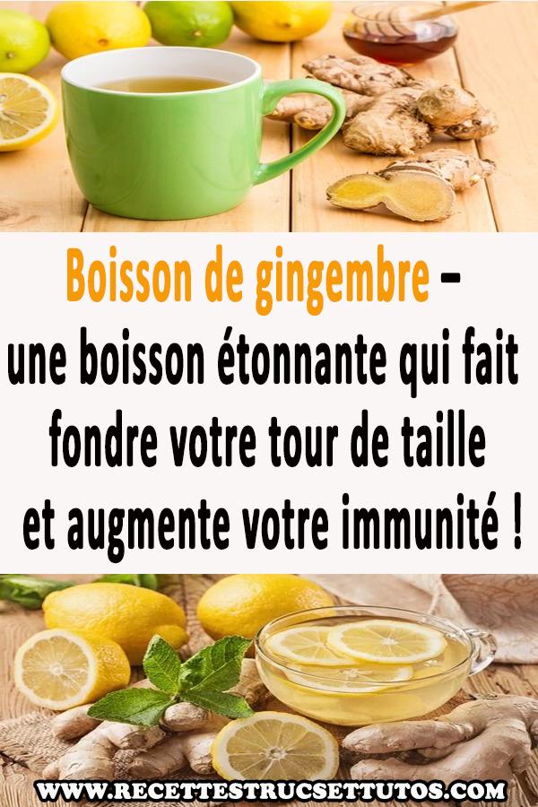Boisson de gingembre – une boisson étonnante qui fait