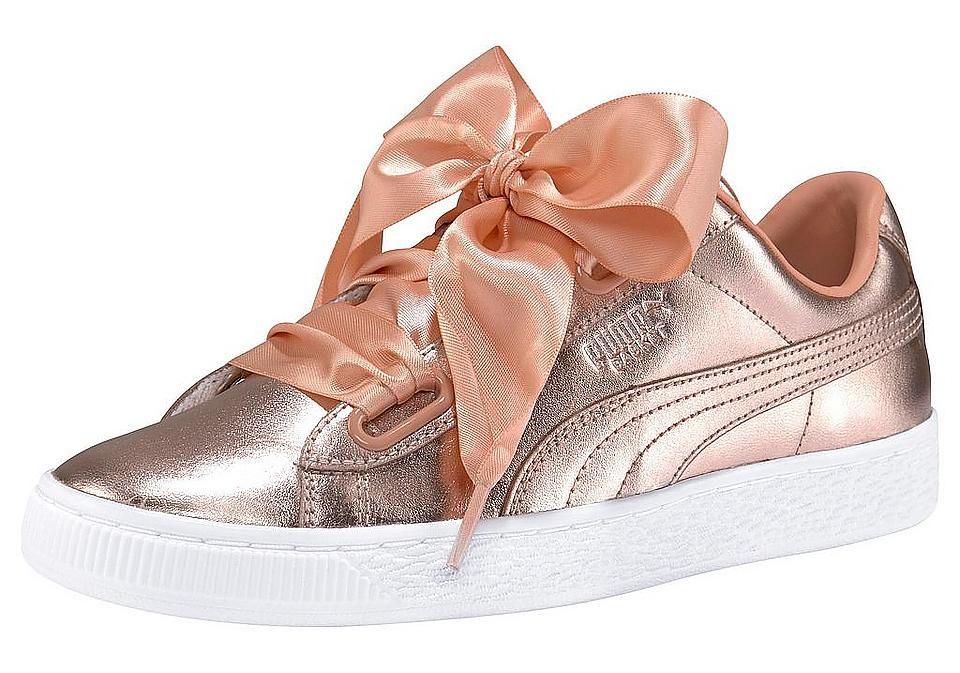 4efb4a4280d3bf PUMA Sneaker »Basket Heart Luxe Wn´s« Sneaker