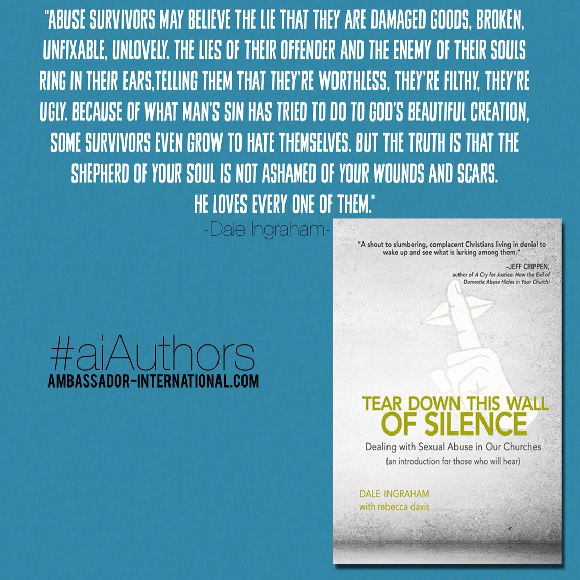 Sharing Our First Author Favorite Quote From Tear Down This Wall